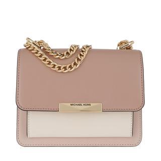 MICHAEL KORS - Umhängetasche - Jade XS Gusset Crossbody Bag Softpink Light Cream Fawn - in rosa - für Damen