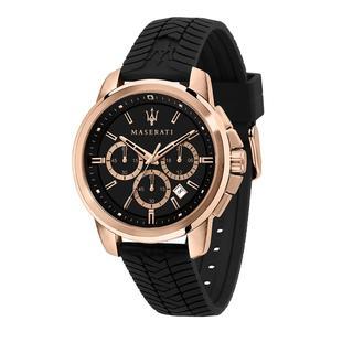 Maserati - Uhr - Watch Successo Black Dial 44mm Rose Gold - in schwarz - für Damen