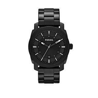 Fossil - Uhr - Machine Dress Watch Black - in schwarz - für Damen