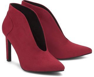 Marco Tozzi - V-Neck-Pumps in rot, High Heels für Damen