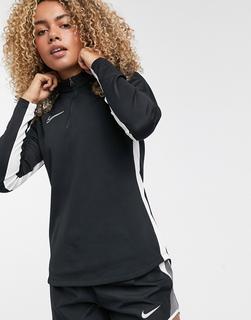 Nike Football - Nike – Football Academy Dry Drill – Schwarzes Oberteil