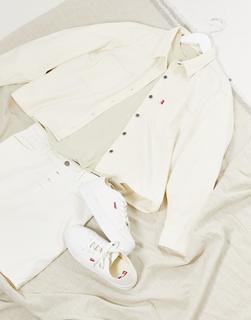 Levis - Utility-Jeanshemd in Weiß