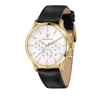 Maserati - Uhr - Watch Epoca 42mm Yellow Gold - in schwarz - für Damen