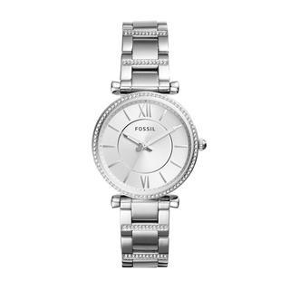 Fossil - Uhr - Watch Carlie ES4341 Silver - in silber - für Damen