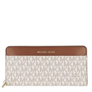 MICHAEL KORS - Portemonnaie - Pocket Continental Wallet Vanilla - in weiß - für Damen