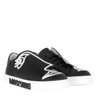 Moschino - Sneakers - Logo Sneaker Black/White - in schwarz - für Damen