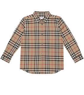 Burberry Kids - Kariertes Hemd aus Baumwolle