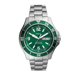 Fossil - Uhr - Men Sport Watch Silver - in grün - für Damen