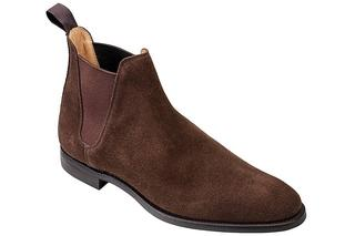 Crockett & Jones - Stiefelette Chelsea 8 in dunkelbraun, Business-Schuhe für Herren