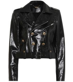 Givenchy - Verzierte Lederjacke