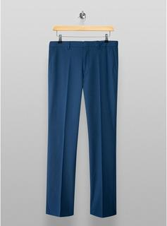 Selected Homme - Mens Selected Homme Blue Slim Pleated Tousers, Blue