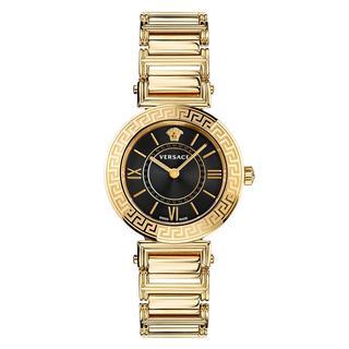 Versace - Uhr - Tribute Watch Black - in gold - für Damen
