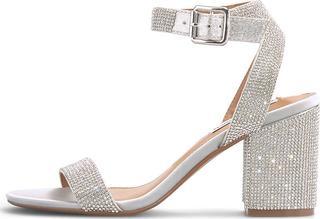 STEVE MADDEN - Sandalette Malia in silber, Sandalen für Damen