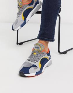 Jack & Jones - Mehrfarbige, kontrastreiche Sneaker