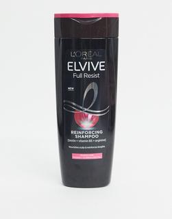 L'Oreal Elvive - L'Oreal – Elvive Full Resist – Stärkendes Shampoo mit Biotin bei brüchigem Haar und Haarausfall,400 ml-Keine Farbe