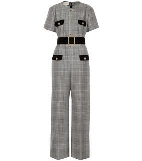 Gucci - Jumpsuit aus Wolle