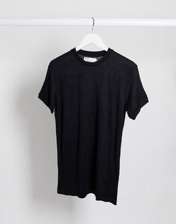 Celio - Schwarzes Strick-T-Shirt
