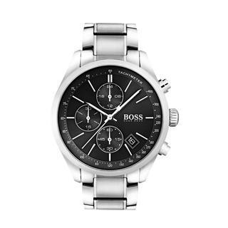 Boss - Uhr - Chronograph Grand Prix Casual Sport Silver/Black - in silber - für Damen