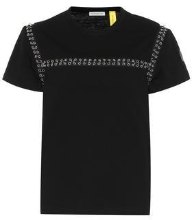 Moncler Genius - 6 MONCLER NOIR KEI NINOMIYA Verziertes T-Shirt aus Baumwolle