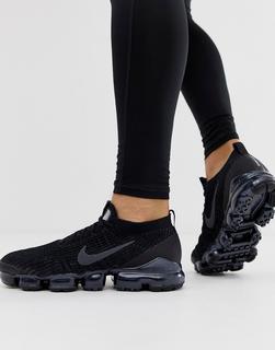 Nike - Air Vapormax 3.0 Flyknit – Komplett schwarze Sneaker