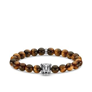 Thomas Sabo - Armband - Bracelet Tiger Brown/Silver - in braun - für Damen