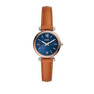 Fossil - Uhr - Watch Carlie Mini ES4701 Silver - in braun - für Damen