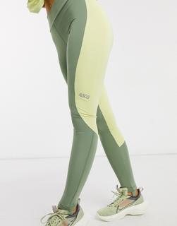 ASOS 4505 - ASOS – 4505 – Leggings mit Farbblockdesign-Mehrfarbig