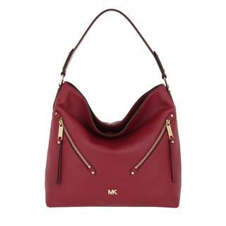 MICHAEL KORS - Hobo Bag - Evie LG Hobo Bag Maroon - in rot - für Damen