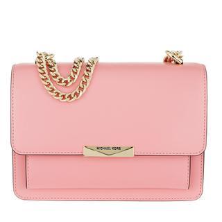MICHAEL KORS - Umhängetasche - Jade Large Gusset Shoulder Bag Carnation - in rosa - für Damen