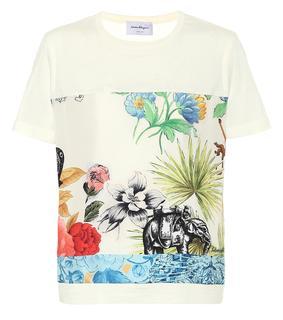 Salvatore Ferragamo - Bedrucktes T-Shirt