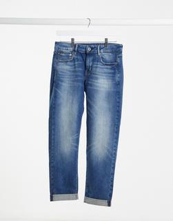 G-Star - Kate – Boyfriend-Jeans in dunkelblauer Waschung