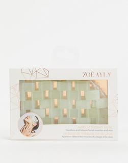 Zoe Ayla - Chi-Maske aus Jadekristall-Grün