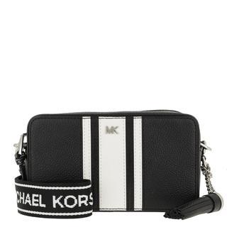 MICHAEL KORS - Umhängetasche - Small Camera Bag Black/Optic White - in schwarz - für Damen