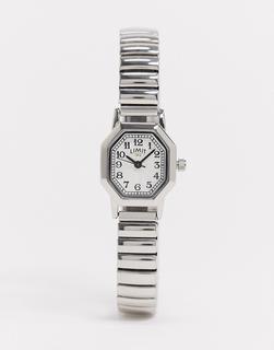 Limit - Armbanduhr in Silber mit achteckigem Zifferblatt