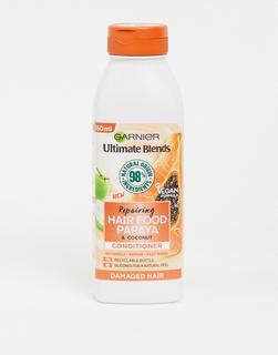 Garnier - Ultimate Blends – Reparierender Hair Food Conditioner mit Papaya für geschädigtes Haar, 350ml-Keine Farbe