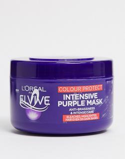 L'Oreal Elvive - L'Oreal – Elvive – Colour Protect Purple – Haarmaske, 250 ml-Keine Farbe