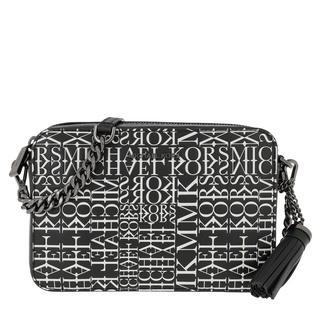 MICHAEL KORS - Umhängetasche - Crossbody Camera Bag Black/Optic White - in schwarz - für Damen