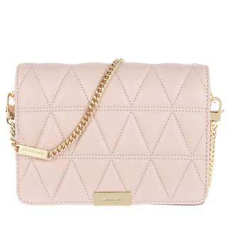 MICHAEL KORS - Umhängetasche - Jade Medium Gusset Clutch Soft Pink - in rosa - für Damen