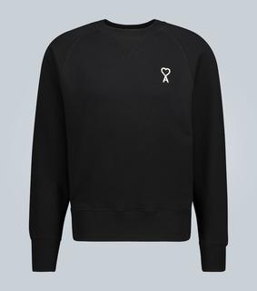 AMI PARIS - Besticktes Sweatshirt Ami de Coeur