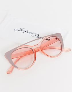 Jeepers Peepers - Rosa Sonnenbrille