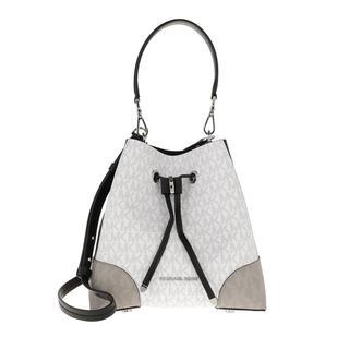 MICHAEL KORS - Beuteltasche - Mercer Gallery Shoulder Bag White/Multi - in bunt - für Damen