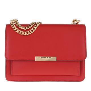 MICHAEL KORS - Umhängetasche - Jade Shoulder Bag Bright Red - in rot - für Damen