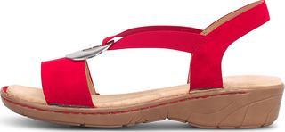 Jenny - Komfort-Sandalette Scala in rot, Sandalen für Damen