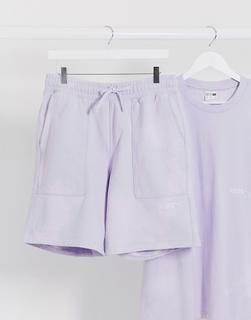 puma - Heavy Classics – Shorts in Lila-Violett