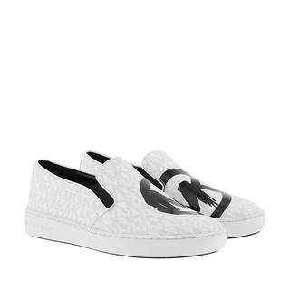 MICHAEL KORS - Sneakers - Keaton Slip On White - in weiß - für Damen