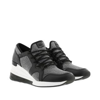 MICHAEL KORS - Sneakers - Liv Trainer Extreme Black/Silver - in schwarz - für Damen