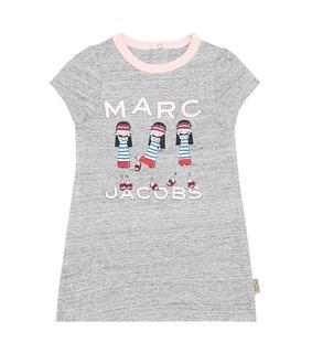 Little Marc Jacobs - Baby Kleid aus Baumwolle