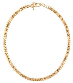 Elhanati - Halskette X Man mit 24kt Goldauflage