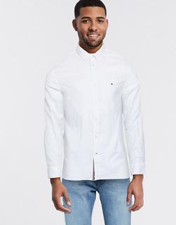 TOMMY HILFIGER - Flex Jasper – Hemd mit Noppenstruktur-Weiß