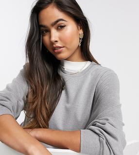 MANGO - Graues Sweatshirt, Kombiteil
